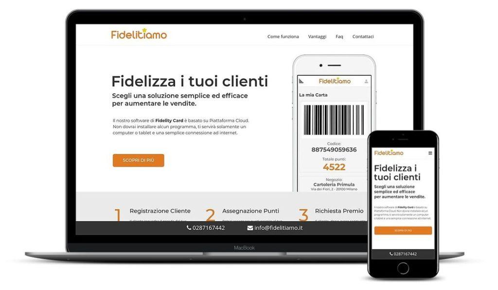 Landing Page fidelitiamo